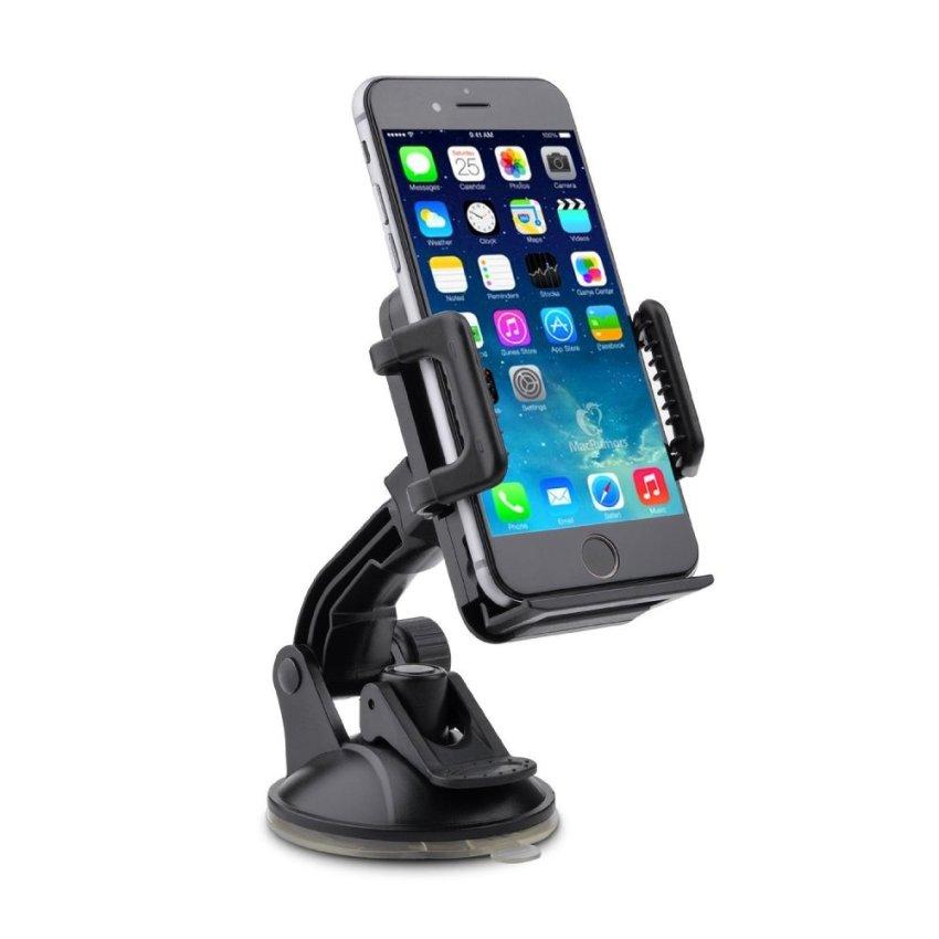 Universal Windshield Dashboard Phone Holder (Black) (Intl)