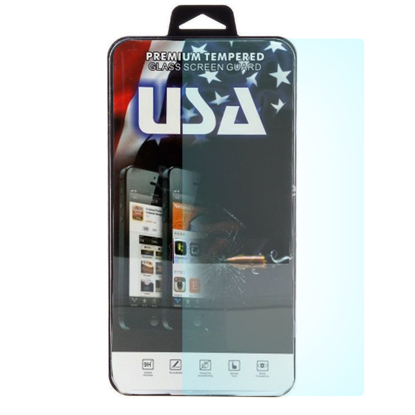 USA Tempered Glass Screen HD Protector for Sony Experia M4 Aqua -Clear