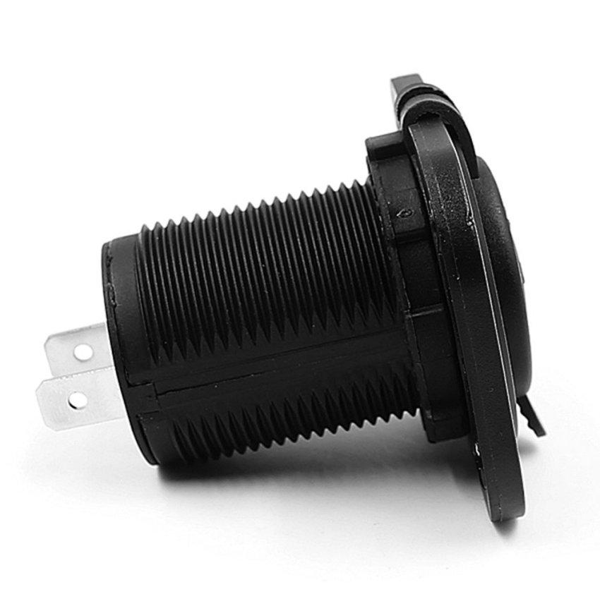 USB Car Cigarette Lighter Socket Splitter Charger Power Adapter Outlet 12V (Intl)