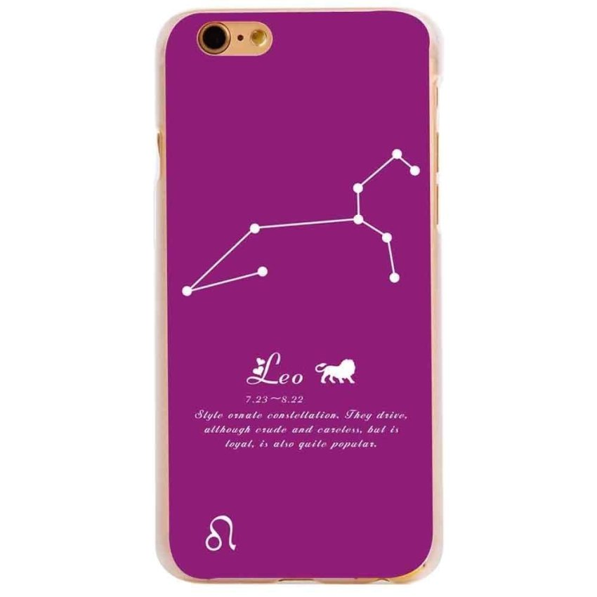 Vanki PC Art Designed Pattern Silicone Case Back Cover Skin Protector for iPhone 6/6S 5.5 (Violet) (Intl)
