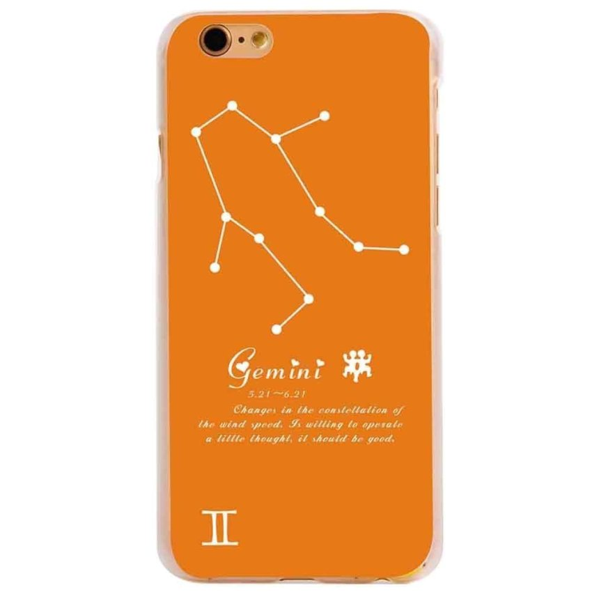 Vanki PC Back Case for iPhone 6/6S (Orange) (Intl)