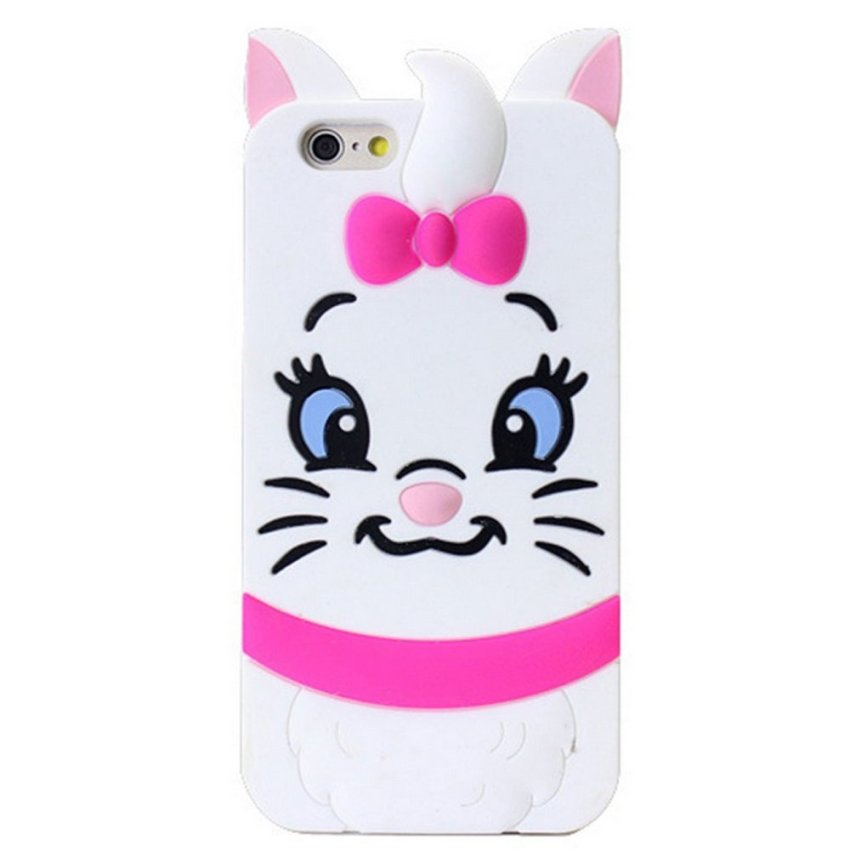 Vanki TPU Art Designed Pattern Silicone Case Back Skin Protector for iPhone 6/6S (White) (Intl)