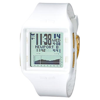 Vestal Unisex BRGOLD02 Brig Gold Digital Display Quartz White Watch - Intl