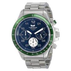 Vestal Unisex ZR2016 ZR-2 Silver Green Black Watch - Intl
