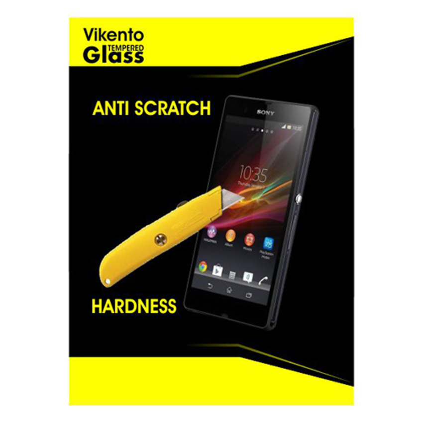 Vikento Glass Tempered Glass Sony Xperia Z1 / L39H Depan dan Belakang - Premium Tempered Glass