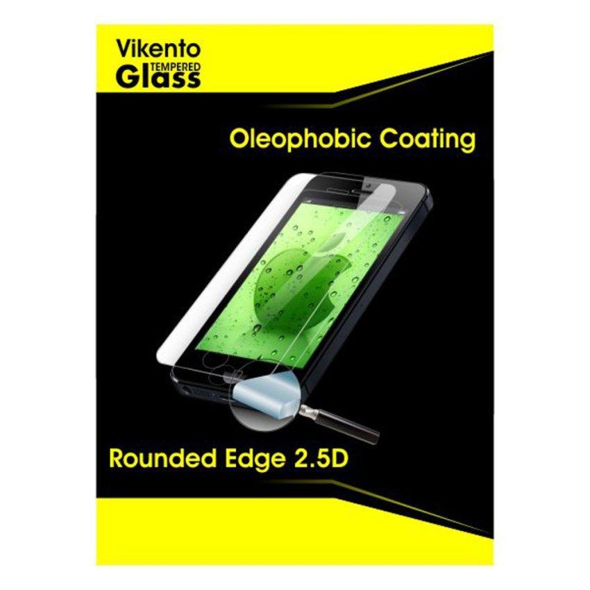 Vikento Glass untuk Blackberry Q20 / Classic - Premium Tempered Glass Round Edge 2.5D