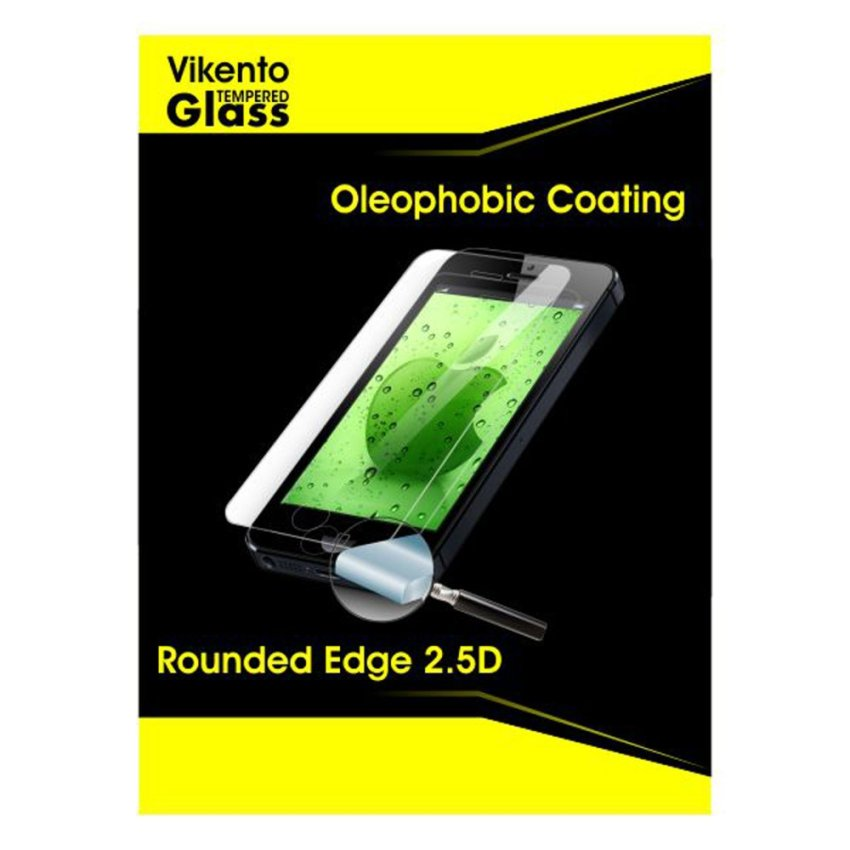 Vikento Tempered Glass Samsung Galaxy Core Prime- Premium Tempered Glass - Anti Gores - Screen Protector