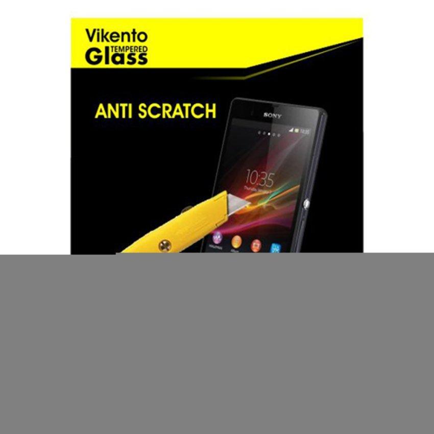 Vikento Tempered Glass Untuk Sony Xperia Z1 Mini Depan dan Belakang - Premium Tempered Glass