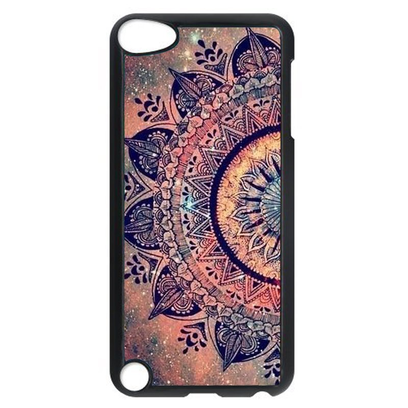 Vintage Floral Phone Case for iPod Touch 5 (Black)