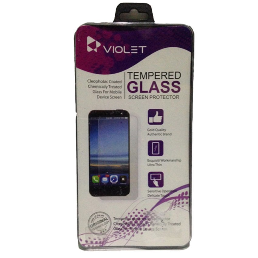 Violet Blackberry Q10 Tempered Glass Screen Protector - Clear