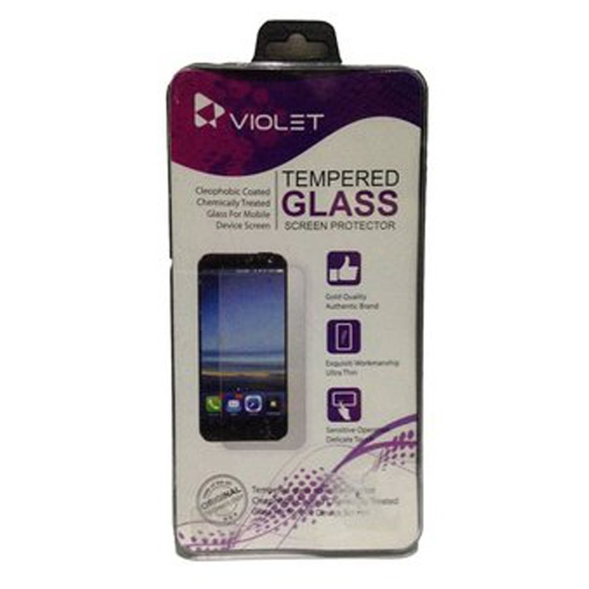 Violet Tempered Glass Xiaomi Mi 4 Clear