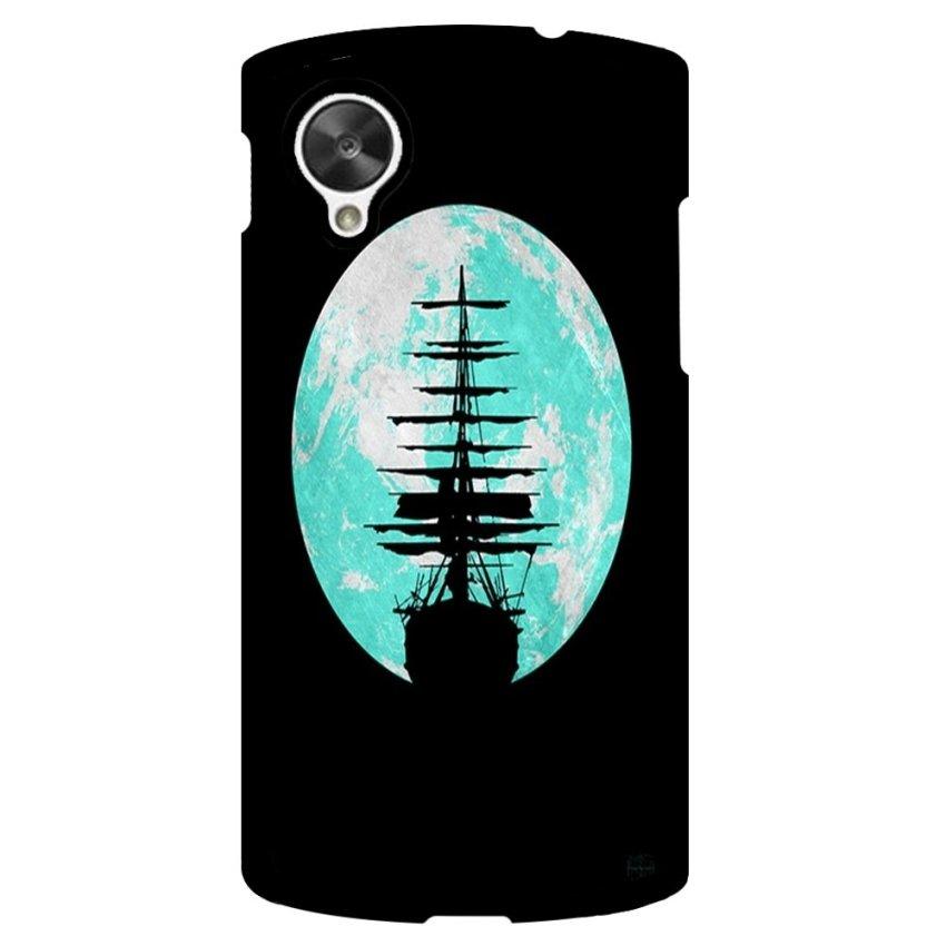 Voyage Pattern Phone Case for LG Nexus 5 (Black)