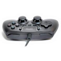 Vztec USB Dual Shock Controller Game Pad Joystick - Hitam