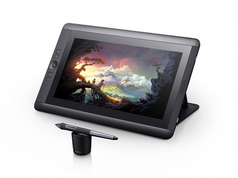 Wacom Cintiq 13HD Creative Pen Display - Hitam