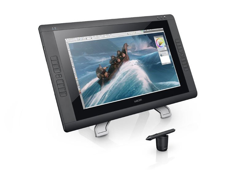 Wacom Cintiq 22HD Non Touch DTK-2200 Interactive Pen Display - Hitam