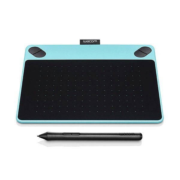 Wacom Pen No Touch Small - Intuos Draw - CTL-490/B0-C - Mint Blue