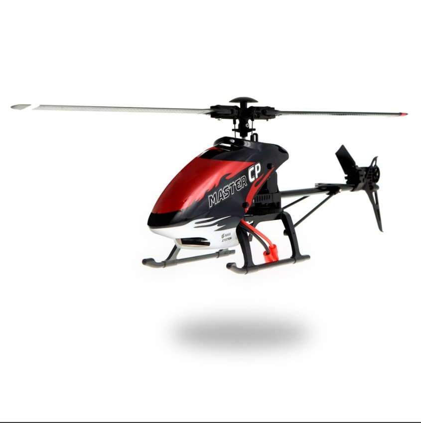 Walkera MASTER CP Flybarless 6-Axis Gyro 6CH RC Helicopter w/ DEVO 10 Transmitter Model 2 (Walkera MASTER CP,Flybarless RC Helicopter,DEVO 10) (Intl)