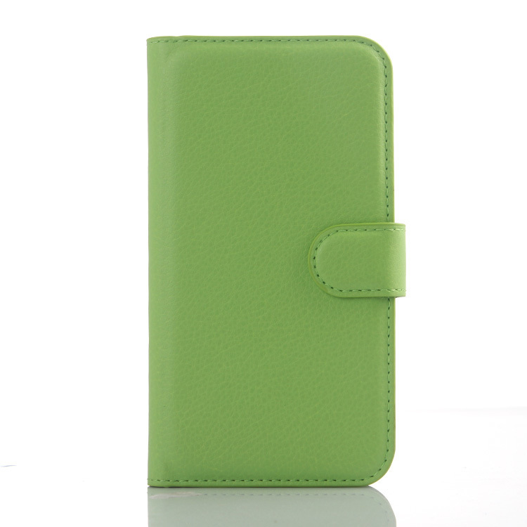 Wallet Flip Leather Case with Card Bag Holder for Huawei Ascend Y625 (Green) (Intl)