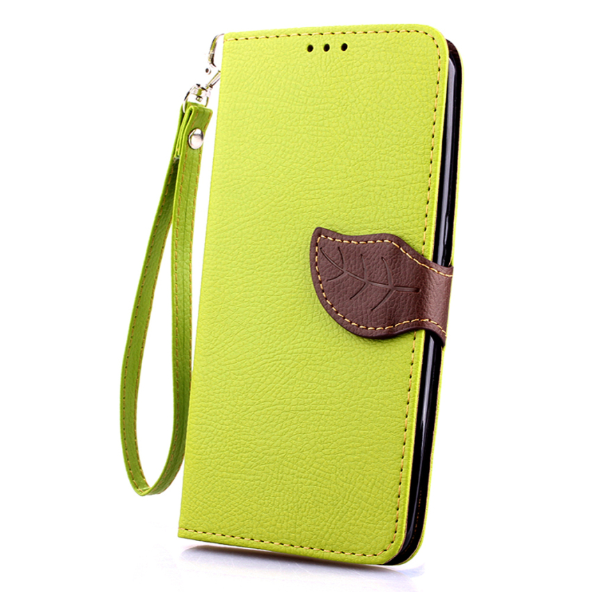 Wallet Flip Leather Case with Card Slot Holder for Google Nexus 6 (Green) (Intl)