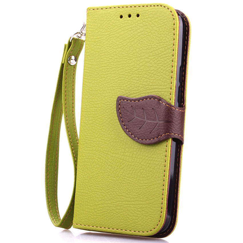 Wallet Flip Leather Case With Card Slot Holder For HTC One M9 Green (Intl)