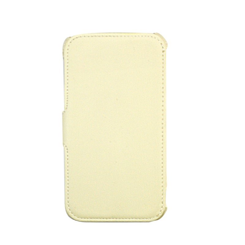 Wallston Finalize Leather Case Galaxy Note 2 - Krem