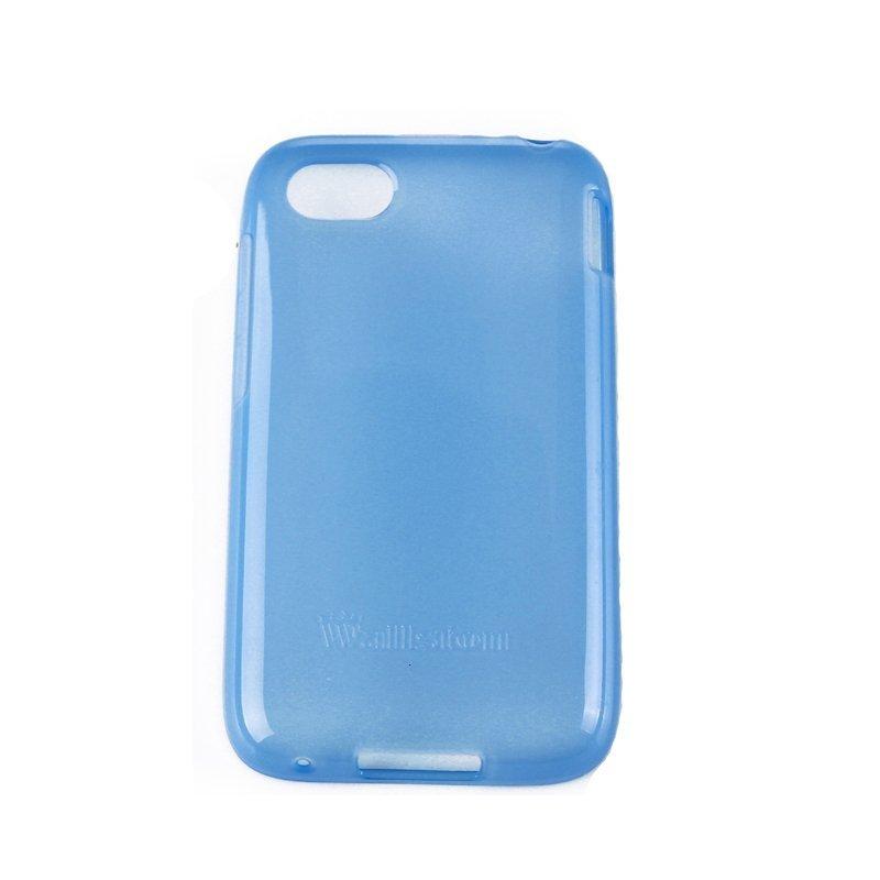 Wallston Soft Color TPU Case for BlackBerry Q5 Blue