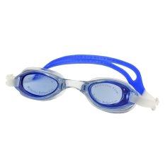 Water Pro Kacamata Renang Anti Fog Swimming Goggles - Biru