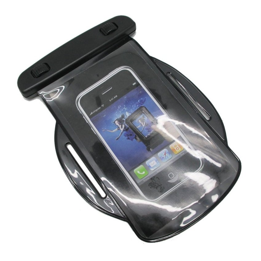 Water Proof Arm Band Bag for Smartphone - ABS150-130 - Hitam