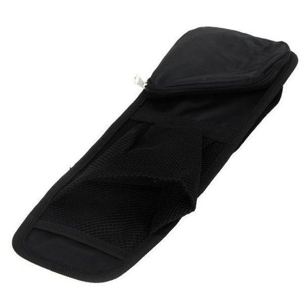 Waterproof fabric Car Auto Vehicle Seat Side Back Storage Pocket Backseat Hanging Storage Bags Organizer (Black) (Intl)