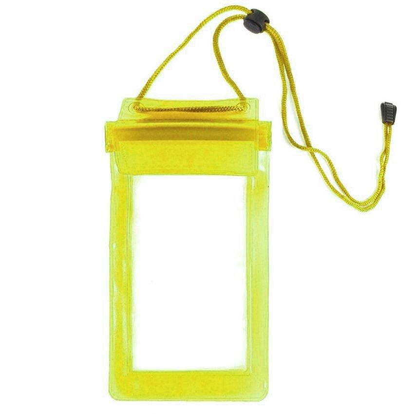 Waterproof Universal Case Bag for Smartphone 6 inch - Kuning