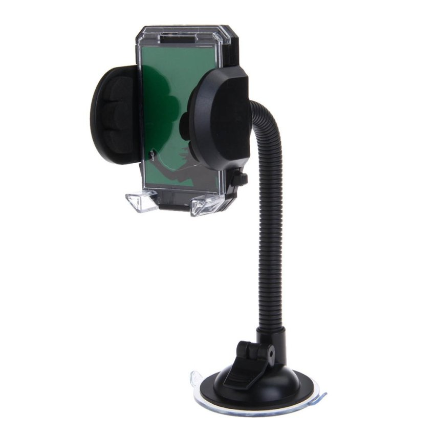 WEIFENG S544 Shockproof Antiskid Car Windshield Swivel Mount Holder for Mobile / PDA / GPS (Intl)