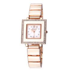 WEIQIN Square Dial Crystal Rhinestone Bracelet Watches Women 24 Hours Analog Quartz Fashion Dress Ladies Watch Female 2016 New