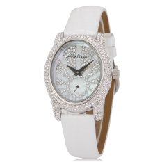 Weishi Melissa / Marisa Hongkong Crystal Diamond Fashion Leather Watch Watch Full Diamond Products