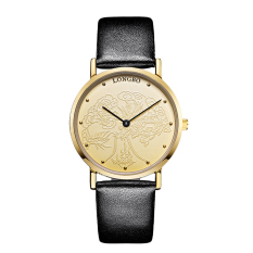 Weizhe Long Wave Business Simple Fashion Mens Watch Waterproof Quartz Leisure Trend Ultra-thin Ladies Watch Student Couples