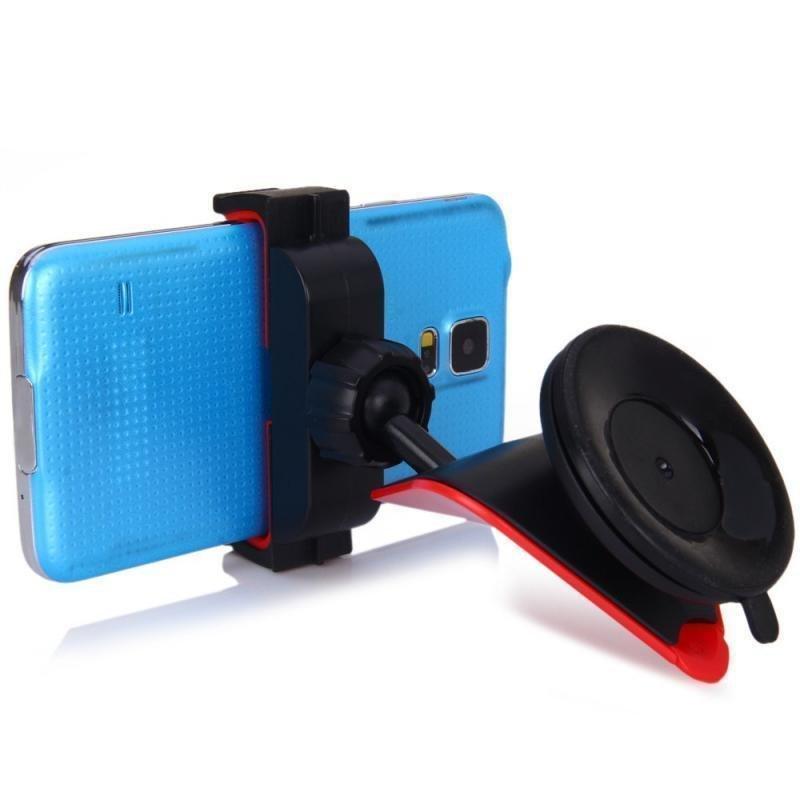WF-410 Universal Car Cell Phone Holder Single Handed Operation Mantis Style Smartphone Holder for Safe Driving Set of 2