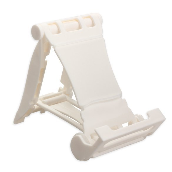White Folding Holder Racing Car Design Multi-stand For iPhone iPad (Intl)