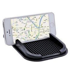 Whyus New Black Car Dashboard Sticky Mat Pad Anti Slip Gadget GPS Mobile Phone Holder- INTL