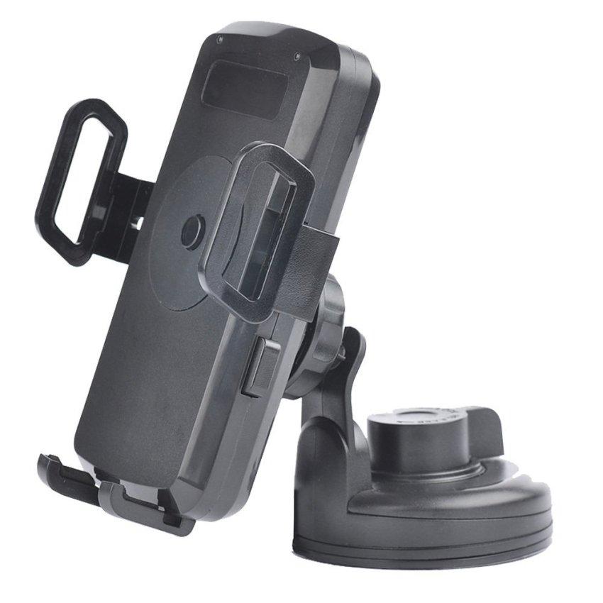Wireless Car Charger Transmitter Cradle Holder for Sumsung Nokia J74 (Black)