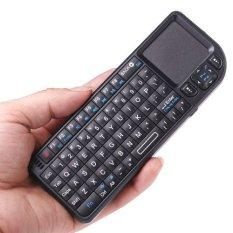 Wireless Mini Keyboard 2.4G Wireless Touchpad Backlight Black (Intl)