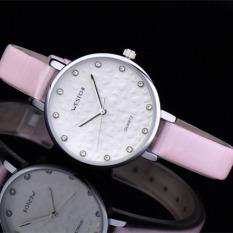 Womdee Authentic West Chi Westchi Fashion Watch Drill Scale Gold Shell Quartz Watch Belt W3128L