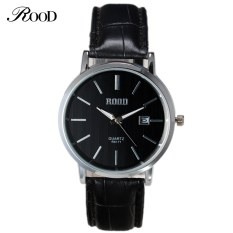 Women Watches 2016 New Womens Designe Luxury Brand ROOD Fashion Ladies Wristwatches Leather Quartz Wrist Watch With Original Box