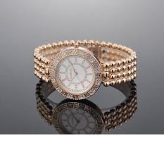 Women Watches Top Brand Luxury Women Dress Watches Big Round Dial Luxury Brands Women Diamond Watches