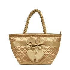 Women's Handbag Bangkok Bag Female Handbag Dumplings Bag Tote Package Medium Bags (Gold) - INTL