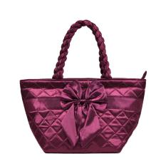 Women's Handbag Bangkok Bag Female Handbag Dumplings Bag Tote Package Medium Bags (Red) - INTL