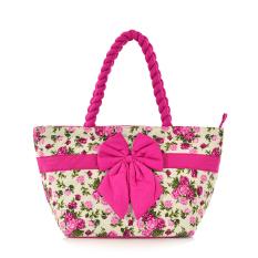 Women's Handbag Bangkok Bag Female Handbag Dumplings Bag Tote Package Medium Bags (Rose) - INTL
