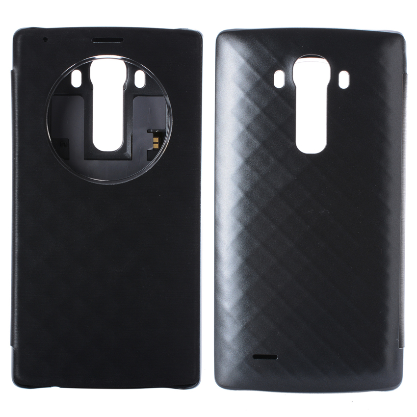 XCSource LG Quick Circle Replacement Back Cover Case for LG G4 Black BC472