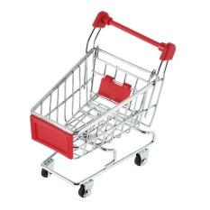 XI YOYO Cute Stainless Steel Mini Supermarket Handcart Shopping Utilitycart Colors&Nbsp;