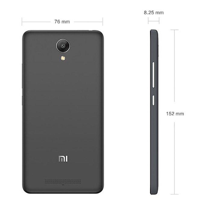 Xiaomi - Redmi Note 2 4G - 16 GB - Hitam