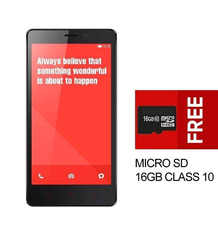 Xiaomi Redmi Note 3G - RAM 2GB - ROM 8GB - White + Bonus MMC 16GB Class 10