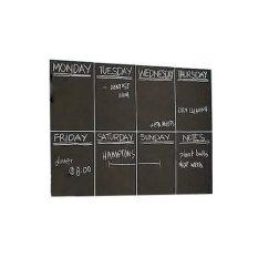 Xoxo Corner Chalk Blackboard Sticker / Stiker Papan Tulis Kapur - Hitam
